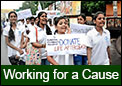 Students can work for social issues