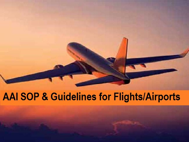 Aai Guidelines Sop For Domestic Travel Flights Airports What S Allowed Do S And Don Ts For Passengers