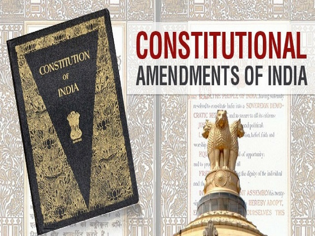 Important Amendments In The Indian Constitution For Upsc