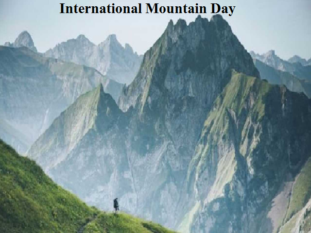 Image result for International Mountain Day 2019