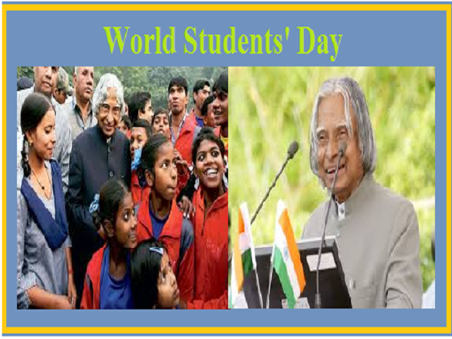 World Students Day 2020 Dr A P J Abdul Kalam S Birthday All You Need To Know