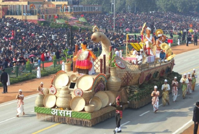 Image result for Republic Day Parade 2020 awards: Assam tableau, Jal Jeevan Mission and NDRF named best