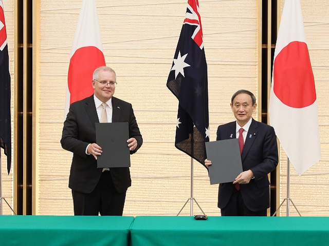 Japan, Australia sign landmark defence deal to counter China's influence in  South China Sea