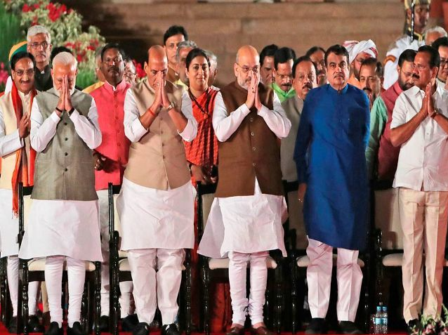 List Of Cabinet Ministers Of India 2020