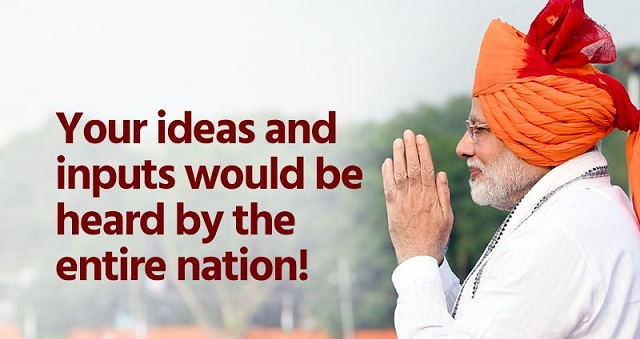 Pm Modi Invites Ideas Suggestions From Public For His