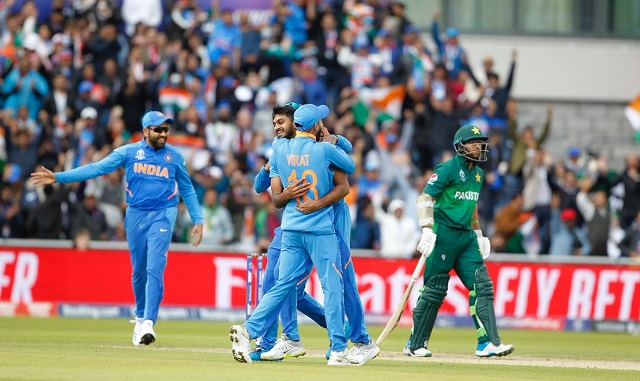 India Vs Pakistan Live Score Cricket World Cup 2019 India Beat Pakistan By 89 Runs Dls Method